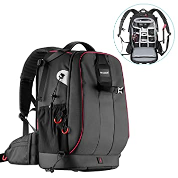 47a5c6c3b3 Amazon | Neewer プロカメラケース 防水、耐衝撃性、調節可能なパッド ...