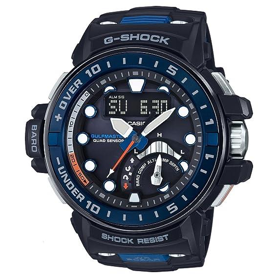 Reloj CASIO - Hombre GWN-Q1000-1AER: Amazon.es: Relojes