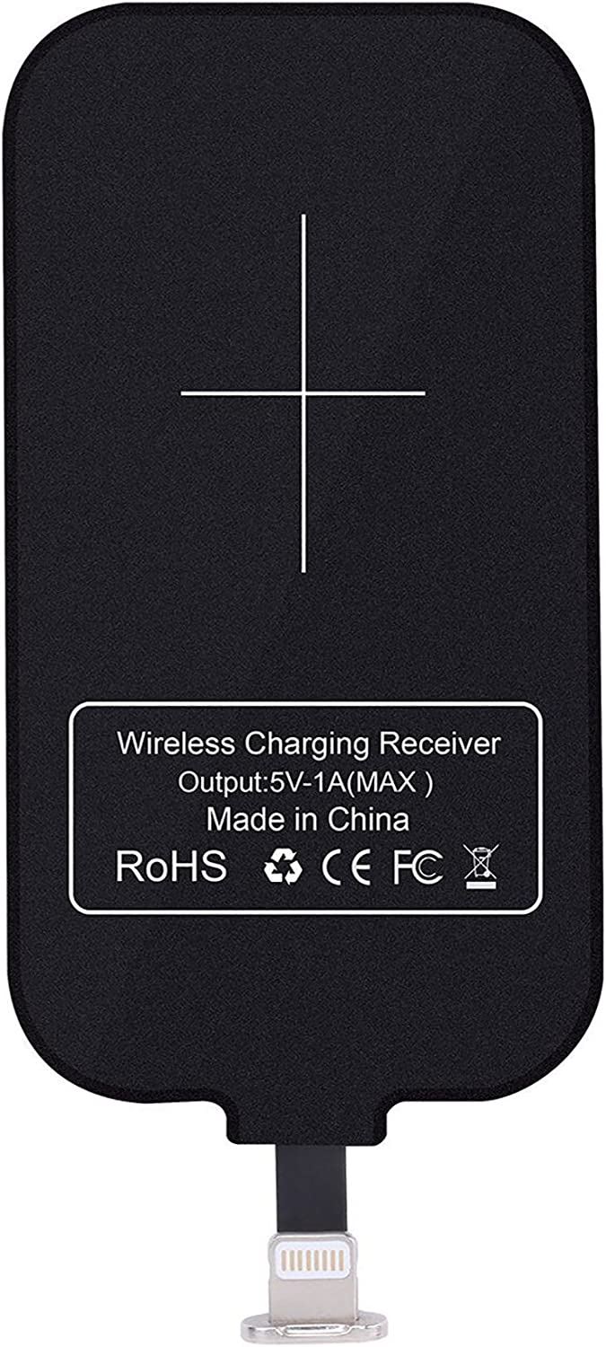 Short Version Nillkin Magic Tag USB C Qi Wireless Charger Receiver Chip for Google Pixe//2//3a//Nexus 6P and Other USB-C Phones Type C Wireless Charging Receiver