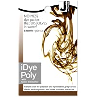 Jacquard IDYE- BROWN 14gm (POLY/DISPERSE) Fabric Dye