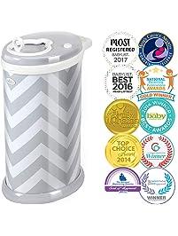 UBBI Steel Odor Locking, No Special Bag Required Money Saving, Awards-Winning, Modern Design Registry Must-Have Diaper...