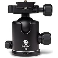 """Benro B2 1/4"""" Pelota Negro - Cabeza para trípode (99 mm, 410 g, 5.4 cm, Negro)"""