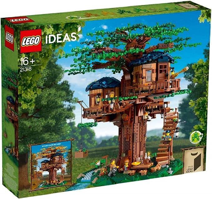 LEGO Ideas - Casa del Árbol (21318): Amazon.es: Juguetes y ...