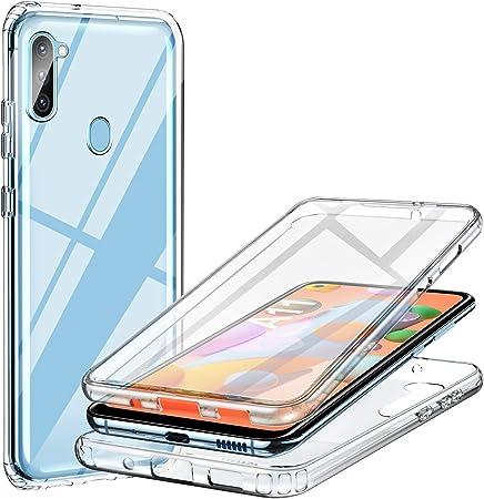 Ivencase Samsung Galaxy A11 Case Shockproof Cover Elektronik