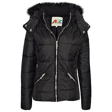 3bb60cffc7b7 A2Z 4 Kids® Girls Jacket Kids Stylish Cropped Padded Puffer Bubble ...