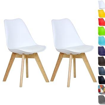 Woltu bh29ws 2 2 x esszimmerstühle 2er set esszimmerstuhl design ...