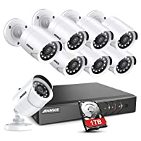 ANNKE 5MP Lite 8CH Security Surveillance Camera System