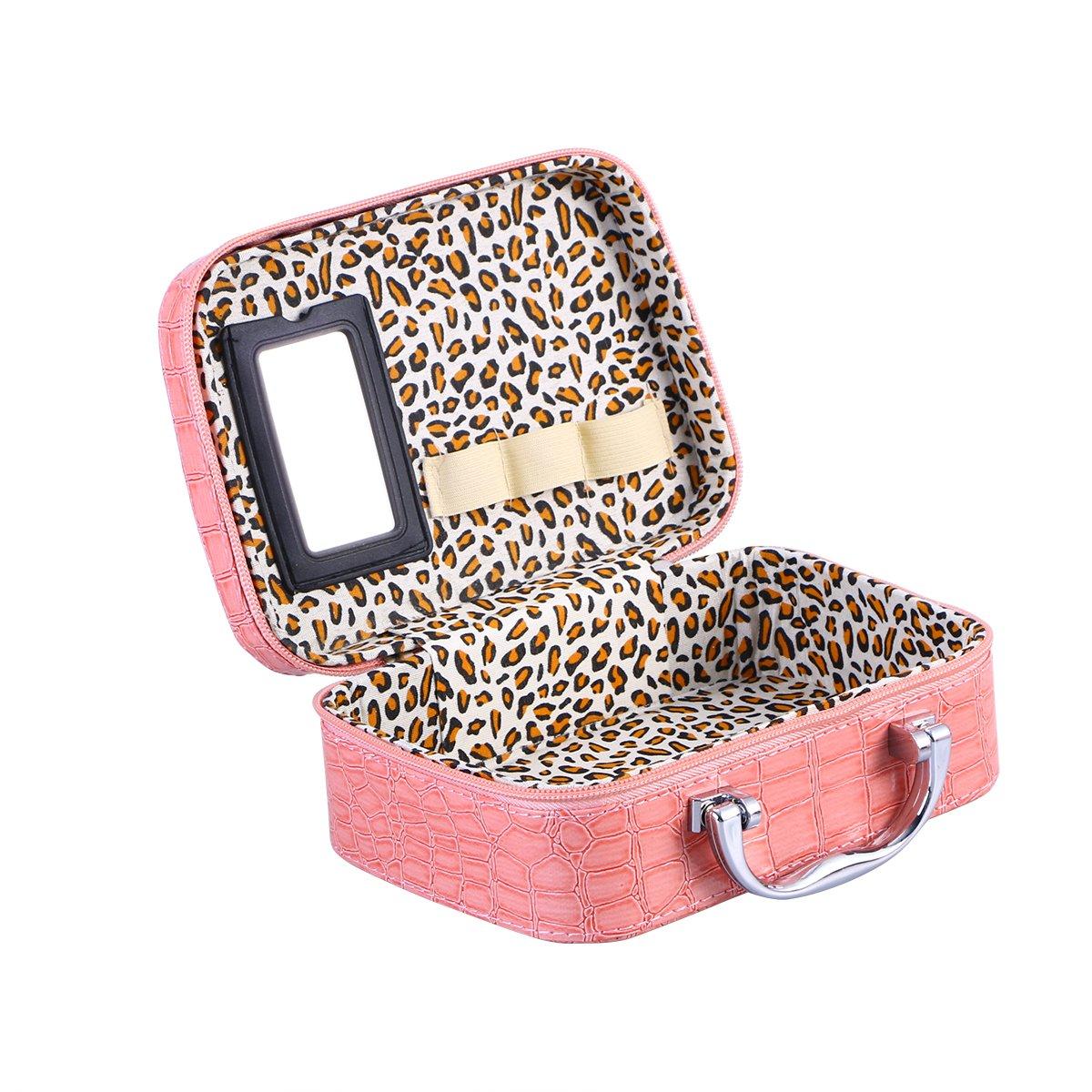 当店在庫してます! ounonaレディースSquareメイクアップバッグTravel ピンク Cosmeticコスメティックバッグケースホルダーオーガナイザー(ブラック) B07B75SW5F Pink ピンク 2601266-5765-2307144911 Pink B07B75SW5F ピンク, 靴のオフサイド:b9dd6fe0 --- teste.bsicapital.com.br