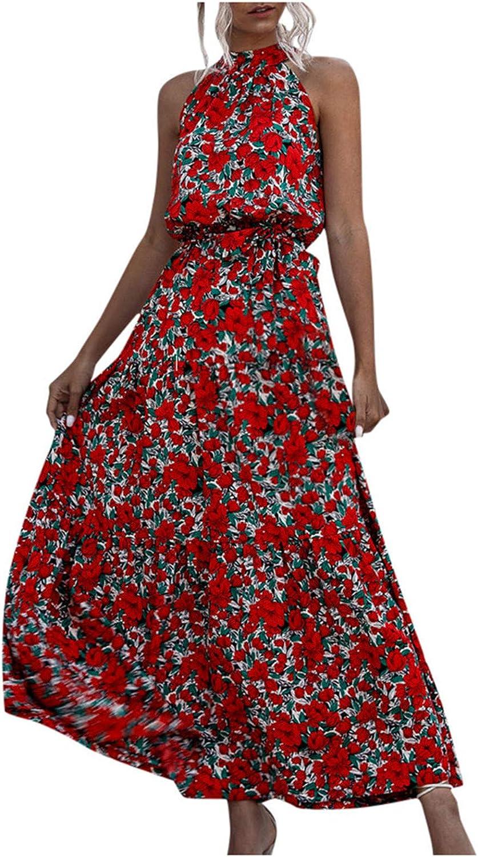 SHOBDW Mujeres Moda Primavera oto/ño Suelta con Cuello en V Tops de Manga Larga Estampado de Flores Blusa Vintage T/única para Mujer Sudadera con Capucha sin Mangas Camiseta