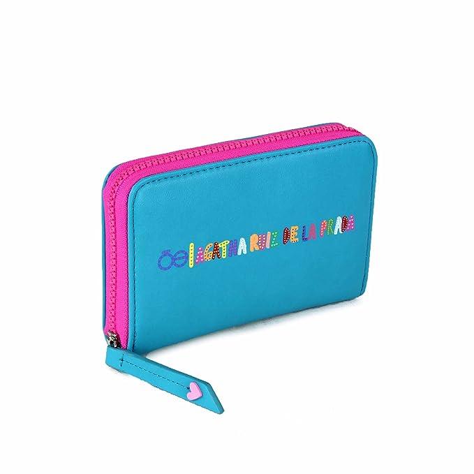 817392a8ecd Billetera Cierre Sencillo Cloe En Color Azul  Amazon.com.mx  Ropa ...