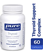 Pure Encapsulations - Thyroid Support Complex - Hypoallergenic Supplement with Herbs and Nutrients for Optimal Thyroid Gland Function* - 60 Vegetable Capsules