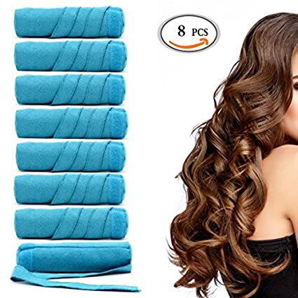 saianke dormir rizadores para el cabello pelo rodillos rizadores Perfilador de dormir noche sin calor sin