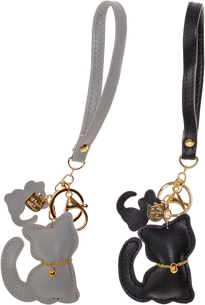 NATFUR 2pcs Opal Bead Keyring Keychain Charm Pendant Tassel Bag Purse Pendant Charm Elegant Novelty Cute for Men for Girls Pretty Novelty Great Beauteous Goodly