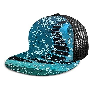 Gorra de béisbol Flotante con diseño de Piano y partitura de ...