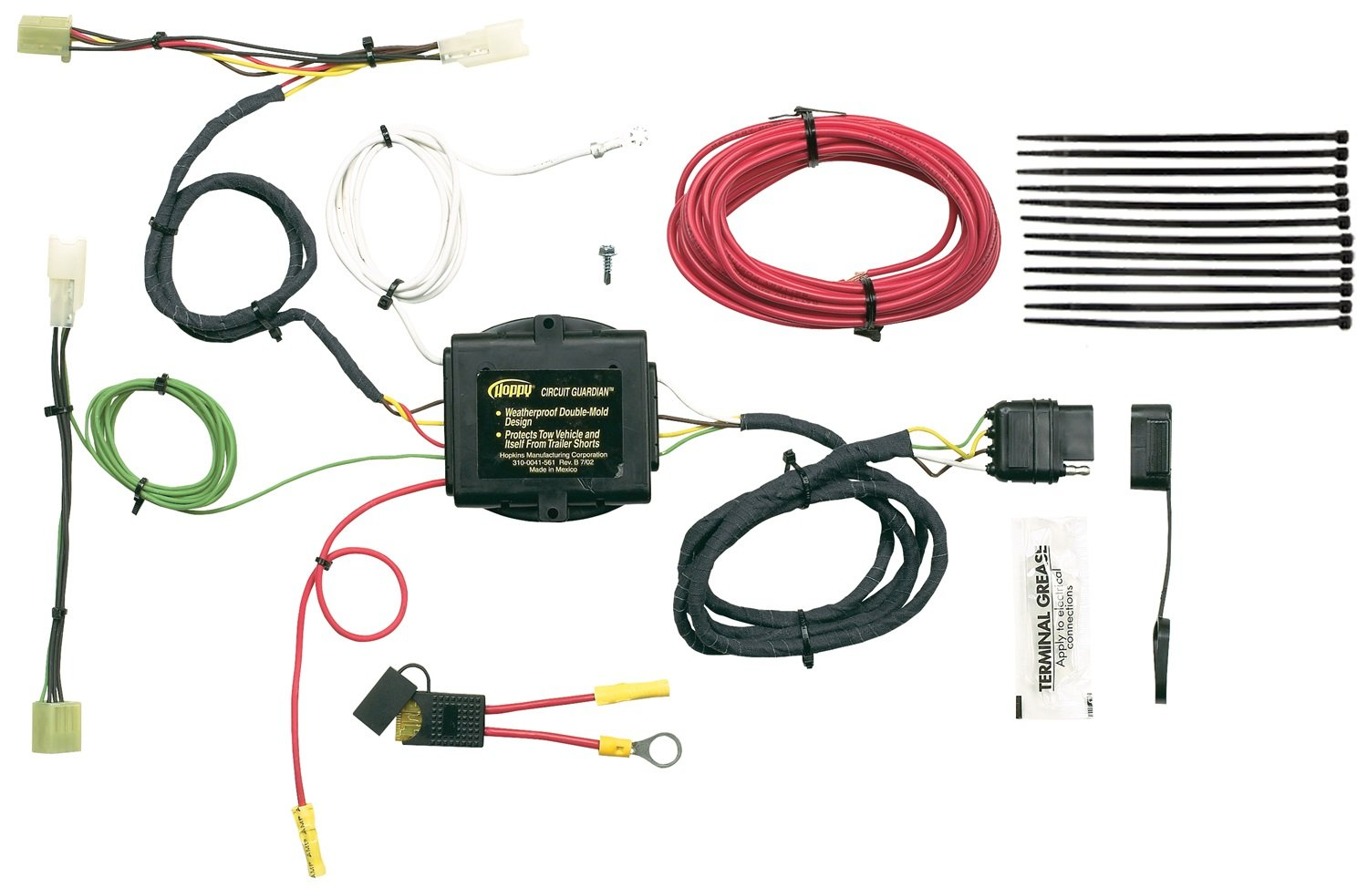 7191%2Bhe2xFL._SL1500_ amazon com hopkins 43425 plug in simple vehicle wiring kit  at edmiracle.co