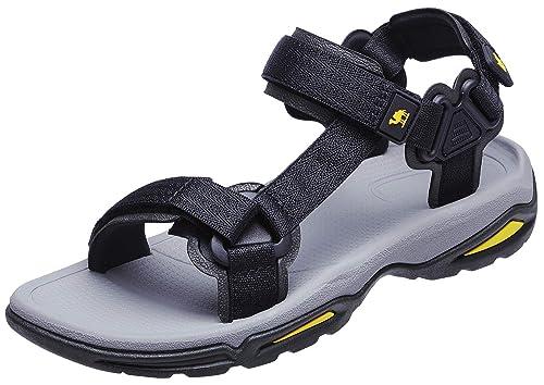 fd05d660acfe3 CAMEL CROWN Men's Women's Sport Sandals Open Toe Strap Sandal Summer Beach  Outdoor Water Shoes
