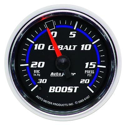 Auto Meter 6107 Cobalt Mechanical Boost / Vacuum Gauge: Automotive
