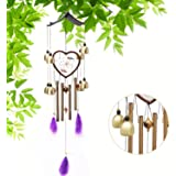 PAchloe Dream Cather Wind Chimes Outdoor, Musical Memorial Wind Chimes, 30 Inches Large Beautiful WindChimes for Garden, Bacon, Outdoor & Indoor Decor with Beautiful Sound