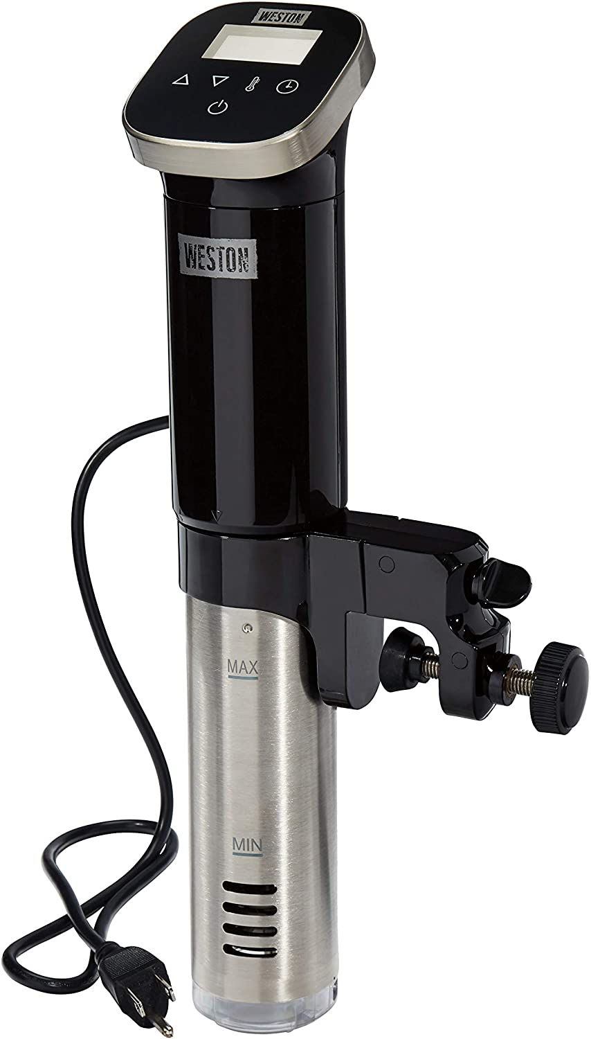 Weston Sous Vide Immersion Circulator with Digital Controls and Display, 800W, Black (36200)