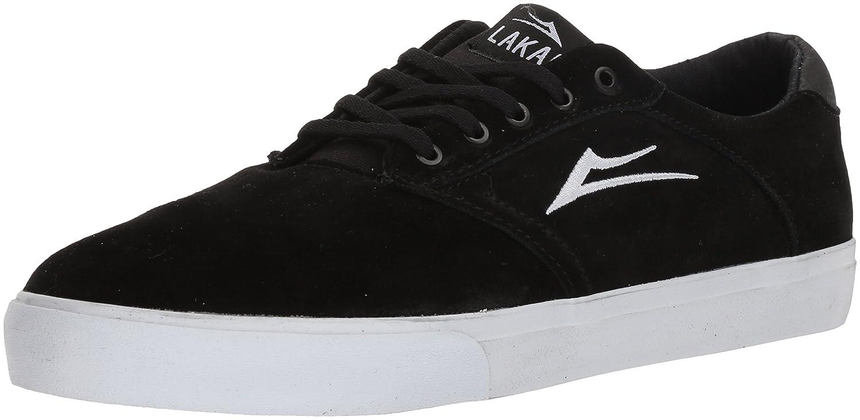 Lakai Porter Skate Shoe B073SNYG12 12 M US|Black Suede