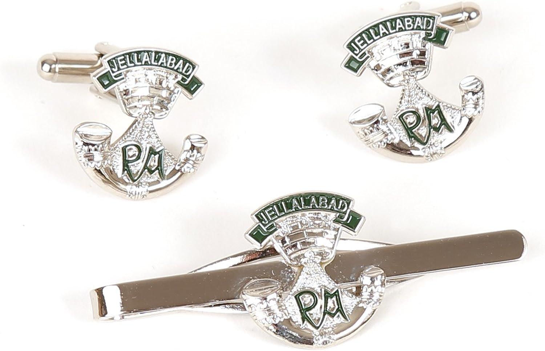 somerset infantería ligera de gemelos y corbata bar regalo set ...