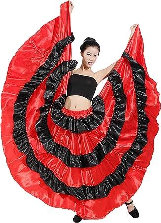 Flamenco Senorita Spagnola Costume Da Donna Costume Festa Vestito Dressup