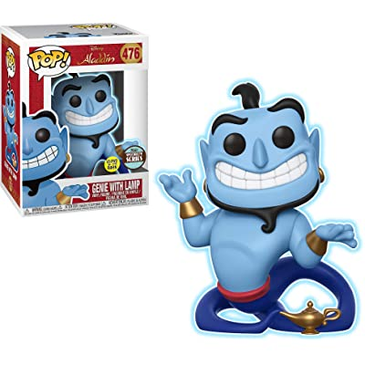 Funko POP! Specialty Series: Disney - Genie w/ Lamp (Glow in The Dark): Toys & Games