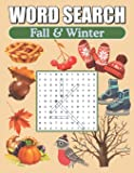 Word Search Fall & Winter: Large Print Word Find Puzzles