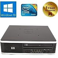 PC MINI COMPUTER FISSO DESKTOP CON WINDOWS 10 PRO | HP ELITE 8000 USDT | INTEL CORE 2 DUO E8400 | RAM 4GB | HDD 160GB | LETTORE DVD | VGA DISPLAY PORT (Ricondizionato)