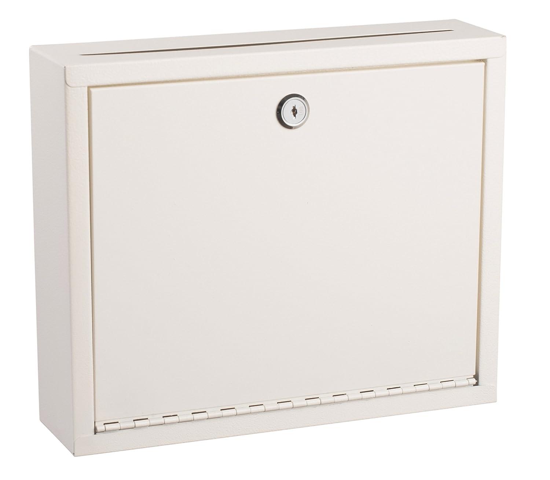 White Multi Purpose Large Size Suggestion Box Adir Corp