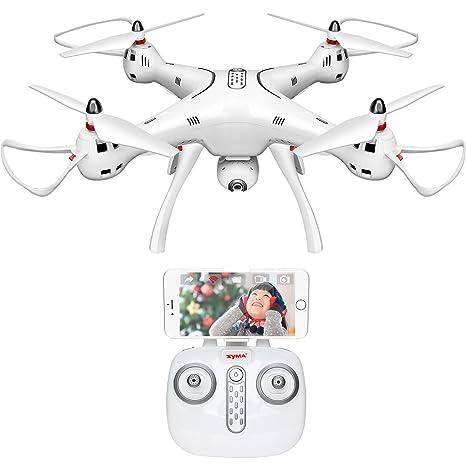 Syma X8 Pro - Dron teledirigido con cámara WiFi con Sistema ...