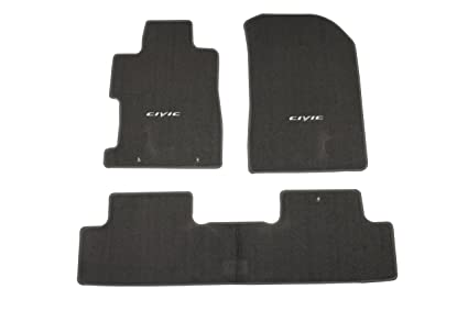 Genuine Honda Accessories 08P15 SVA 120A Gray Floor Mat For Select Civic  Models