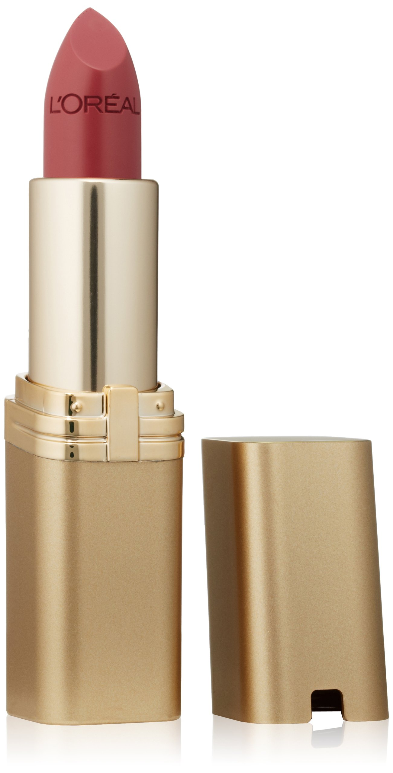 L'Oréal Paris Colour Riche Lipstick, Saucy Mauve, 0.13 oz.
