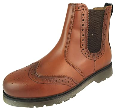 16ef87d5 Size 12 Catesby Men's Cx02c Leather Chelsea Ankle Boots: Amazon.co.uk: Shoes  & Bags