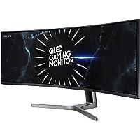 SAMSUNG LC49RG90SSNXZA 49-Inch CRG9 Curved Gaming Monitor, Black, QHD, 120Hz