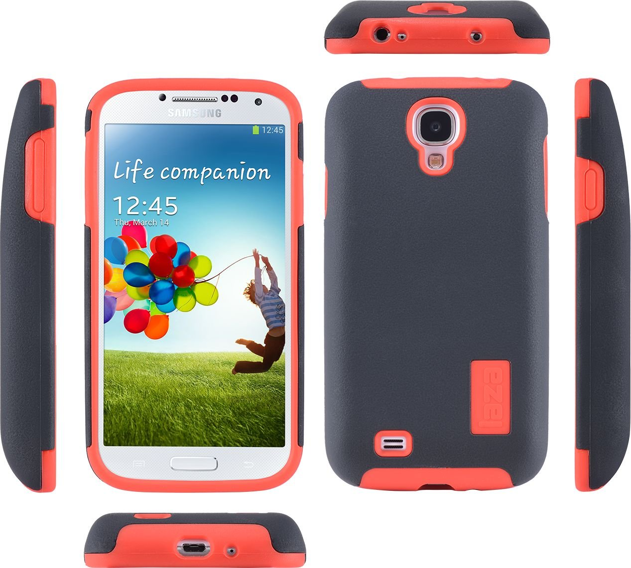 separation shoes 95e86 dc38d Laza Samsung Galaxy S4 RuggedFusion Protective Case for Extended ...