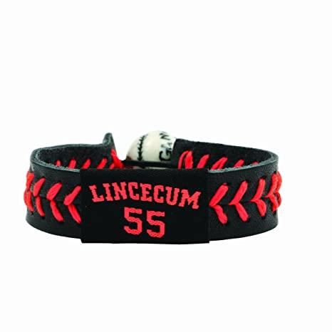 0570da77606 Amazon.com   MLB Tim Lincecum Team Color Jersey Bracelet   Sports ...