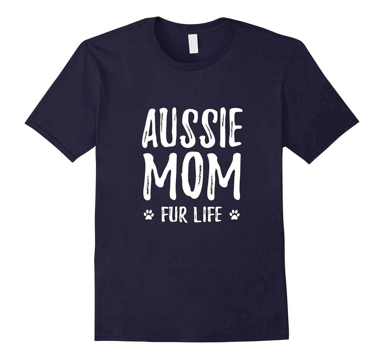 Aussie Mom T Shirt Shepherd Dog-Tovacu