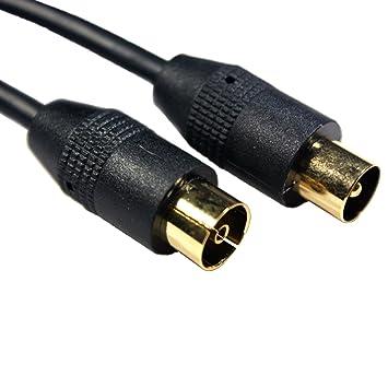 Generic YanHongUk150730 – 433 1yh2403yh ial/Coaxial Plomo Cable de extensión/enchufe TV 10