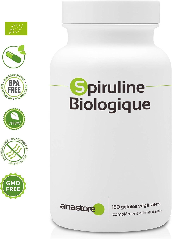 COMPRIMIDOS DE ESPIRULINA * 500 mg / 300 comprimidos * Cardiovascular, Deficiencias (hemoglobina), Energia, Equilibrio emocional, Inmunitario, Peso, ...