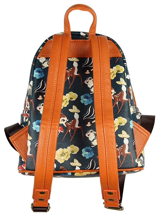 2d0339e49e7 Loungefly x Disney Bambi And Friends Mini Backpack  Amazon.co.uk  Clothing