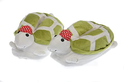 f33b0537f11 Image Unavailable. Image not available for. Colour  Toby Turtle Slippers  For Kids