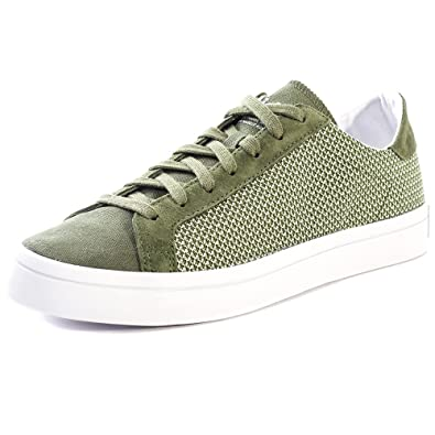 6a332f3a8ad99 adidas Original Court Vantage Hommes Trainers: Amazon.fr: Chaussures ...