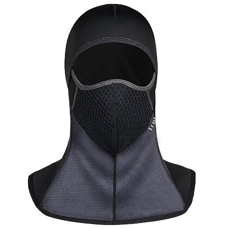 Passamontagna Balaclava Berretto Antivento Face Mask Multifunzione Moto  Abbigliamento Berretto Invernale Sciarpa Maschera da Sci Bicicletta  Copricapo ... 7e100c1aaffc