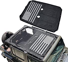 Sukemichi Roll Bar Storage Bag Cage for Jeep Wrangler JK 2007~2017 4 Doors with Multi-Pockets /& Organizers /& Cargo Bag Saddlebag Tool Kits Holder 2 Pack
