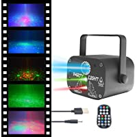 FantasyAttics LED Night Light Projector - Smart Laser Disco Light With 64 Light Combinations - Sound Control Party…