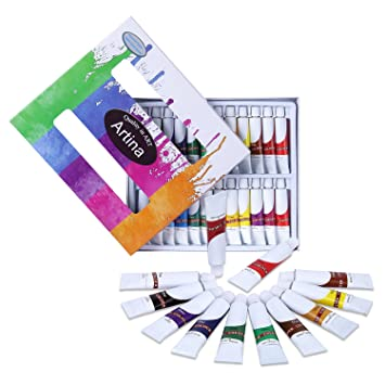 Artina Aquarellfarben Set Colaro 24x12ml Aquarell Farben