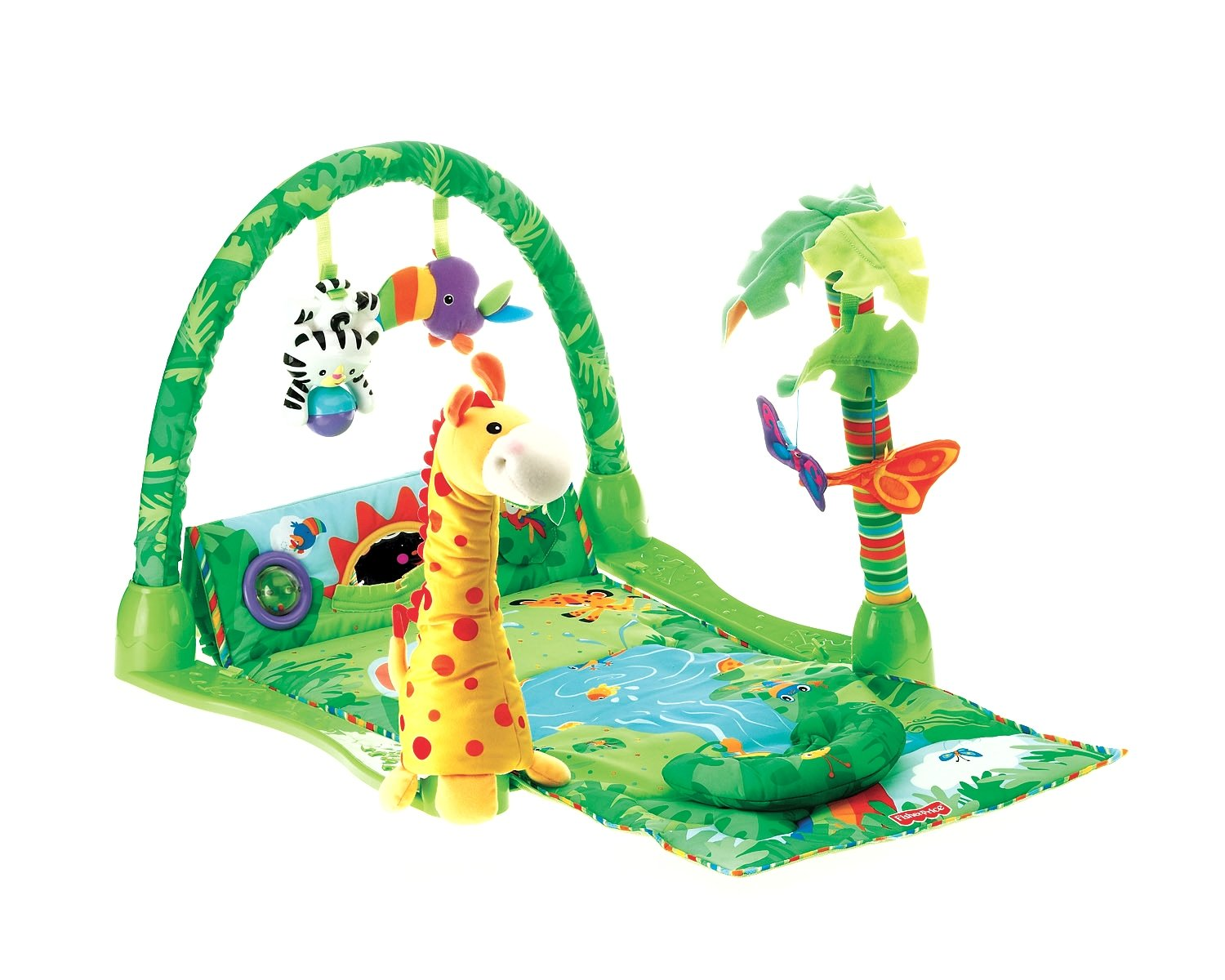 Fisher-Price Rainforest 1-2-3 Musical Gym (Discontinued by Manufacturer) L1664