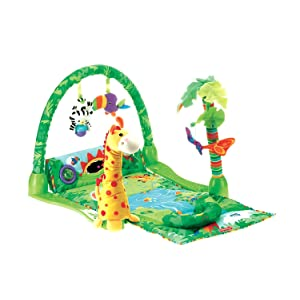 Fisher-Price Rainforest 1-2-3 Musical Gym