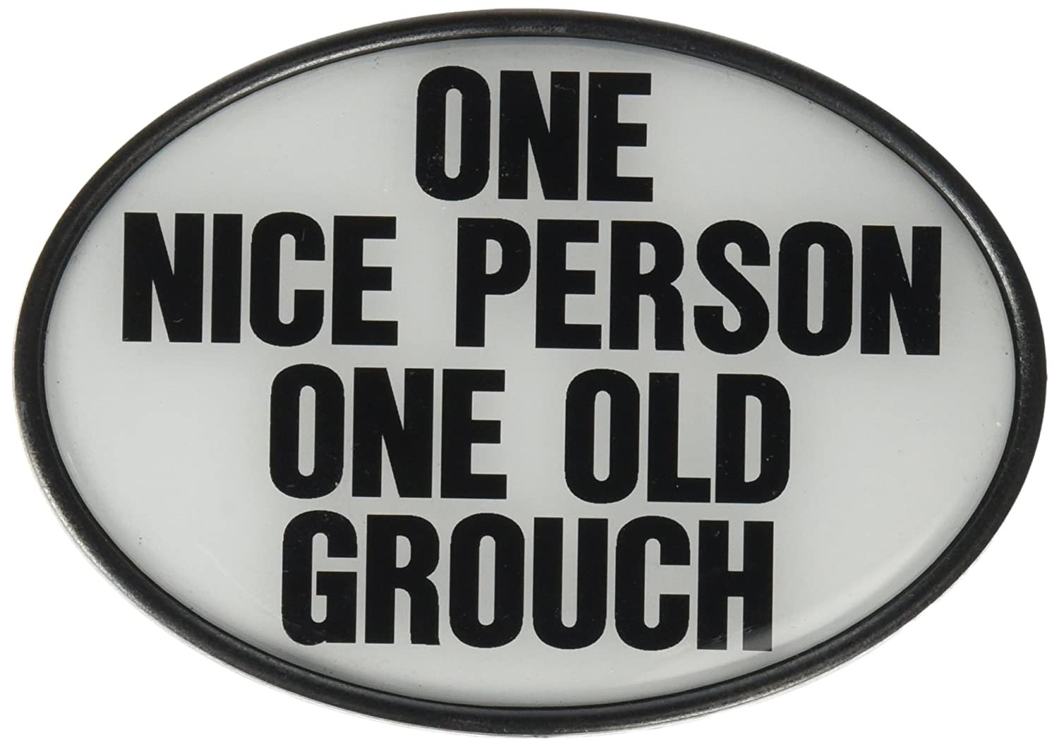 Knockout 571 One Old Grouch Plastic Hitch Cover